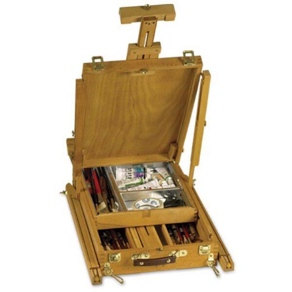 Creative. Mark Grand Luxe Sketch Box Easel Open