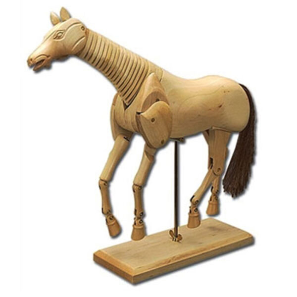 Creative Mark Horse Manikins - Horse Natural 12 in