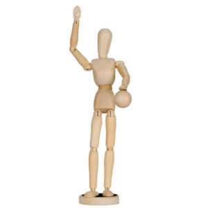 Creative Mark Magnepoze Manikins - Male Natural 12 in