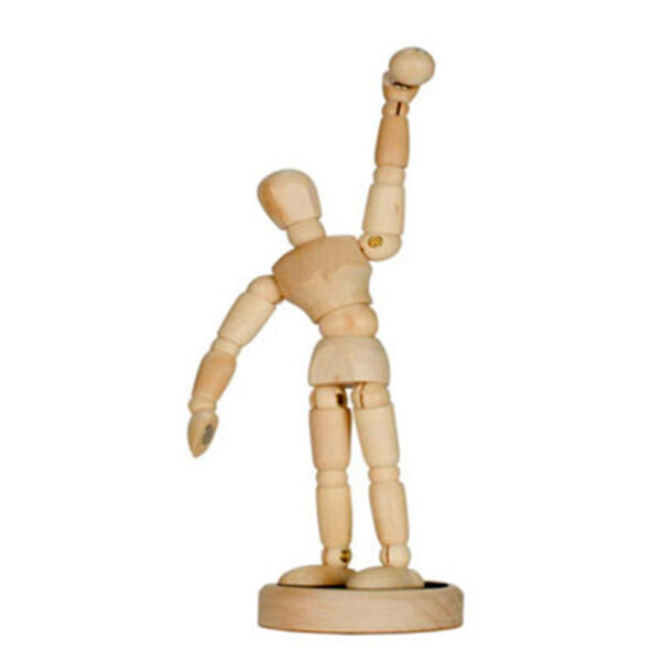 Creative Mark Magnepoze Manikins - Male Natural 4.5 in