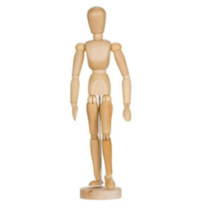 Creative Mark Art Manikins - Male Varnished 12 in