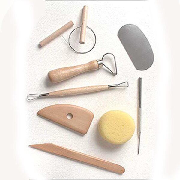 Creative Mark Pottery Tool Kit Set of 8 Pieces