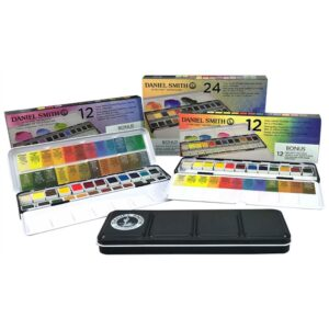 Daniel Smith Watercolor Set Half Pan Group
