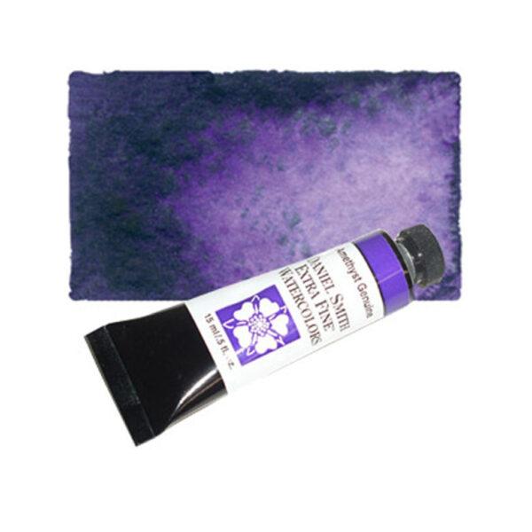 Daniel Smith Extra Fine Watercolors - Amethyst Genuine 203 15 ml (0.5 OZ)