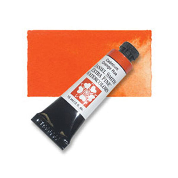 Daniel Smith Extra Fine Watercolors - Cadmium Orange Hue 220 15 ml (0.5 OZ)