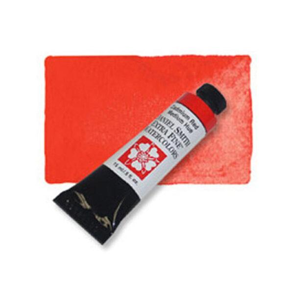 Daniel Smith Extra Fine Watercolors - Cadmium Red Medium Hue 222 15 ml (0.5 OZ)