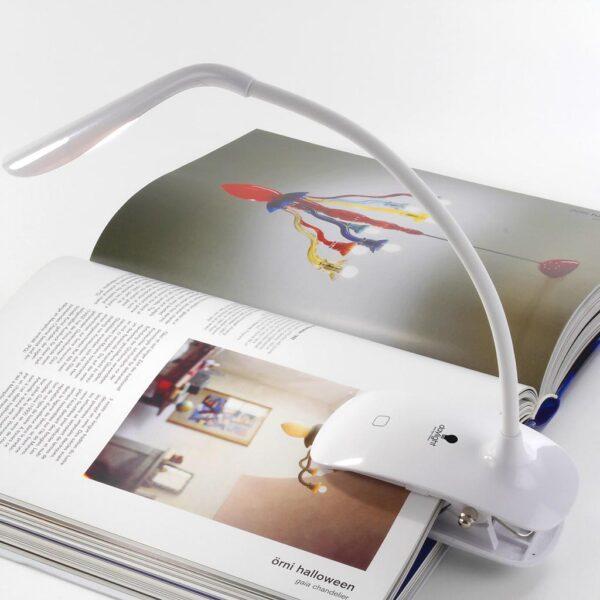 Daylight Smart Clip On Lamp Usage 2