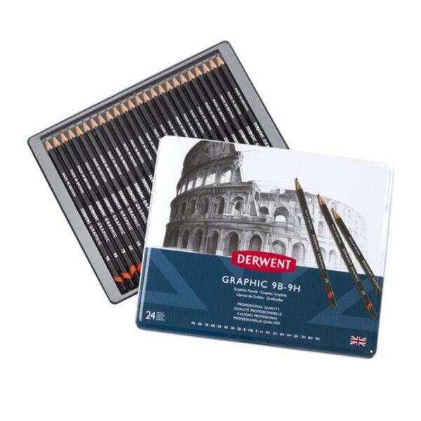 Derwent Graphic Pencil Sets - Set of 24