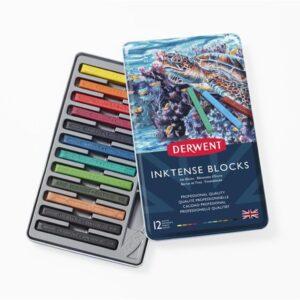 Derwent Inktense Block Sets - Tin Box Set of 12