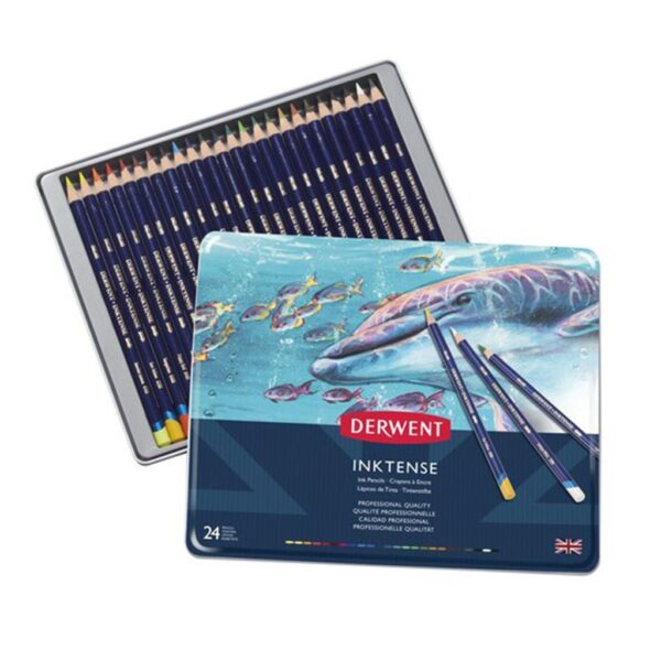 Derwent Inktense Pencil Sets - Set of 24