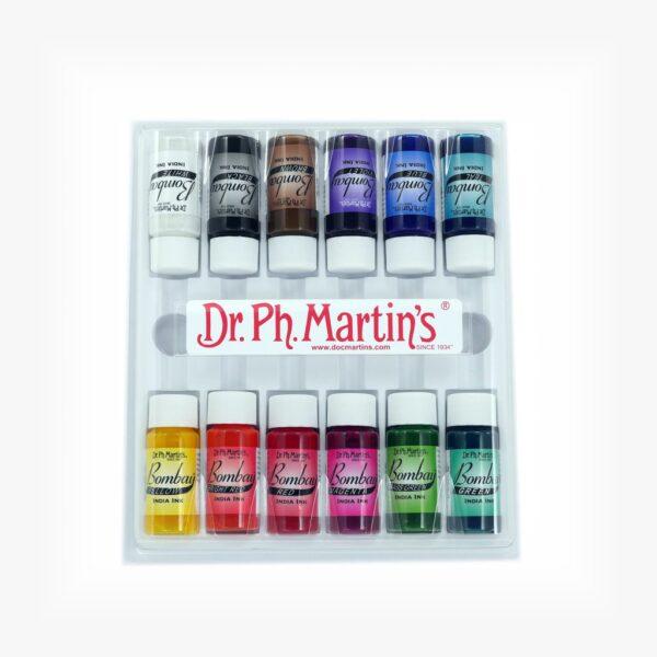 Dr Martins Bombay India ink Set 1 12 x 15ml