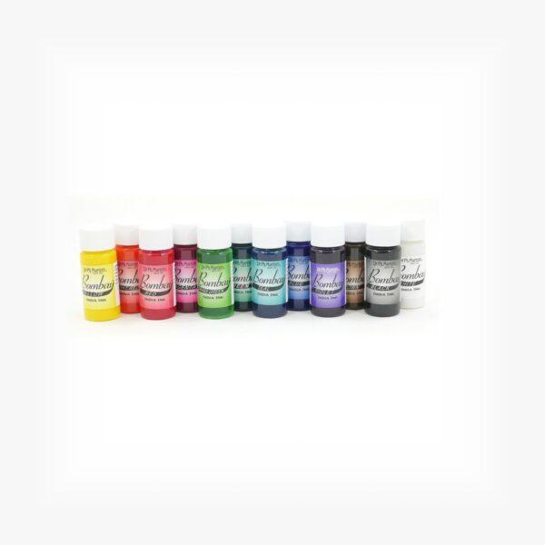 Dr Martins Bombay India ink Set 1 12 x 15ml LIne