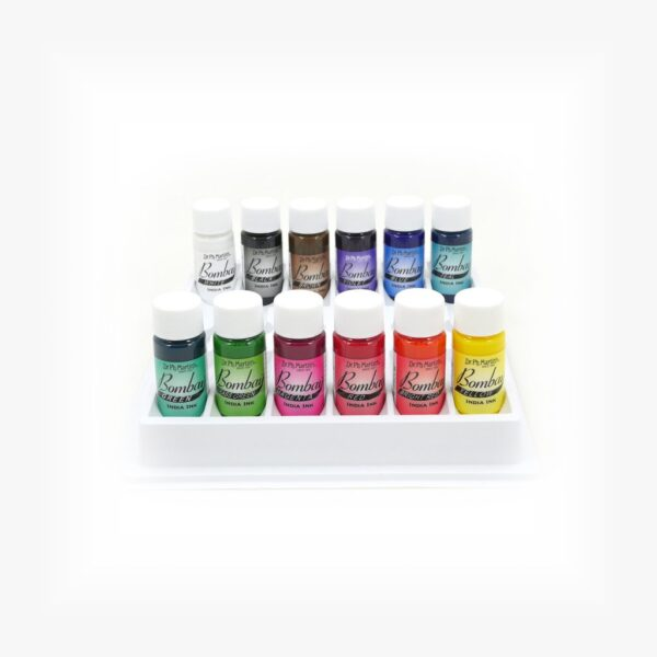 Dr Martins Bombay India ink Set 1 12 x 15ml Open