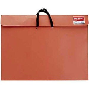 Duratote Classic Red Rope Portfolios - Red  24 x 36in 2 in Gusset