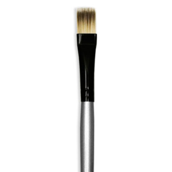 Dynasty Black Silver Brushes - Short Handle Rake 4945 Size 3/8in