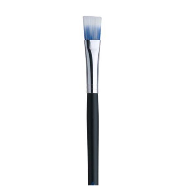 Dynasty Blue Ice Oil and Acrylic Brushes - Long Handle Bright Size 4