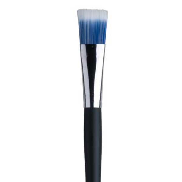 Dynasty Blue Ice Oil and Acrylic Brushes - Long Handle Bright Size 10
