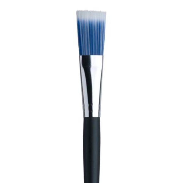Dynasty Blue Ice Brushes - Long Handle Fan Size 10