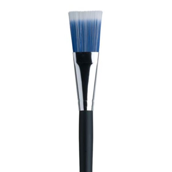 Dynasty Blue Ice Oil and Acrylic Brushes - Long Handle Bright Size 1in