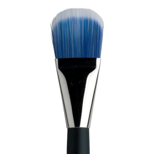 Dynasty Blue Ice Mix Media Brushes - Short Handle Filbert Size 40