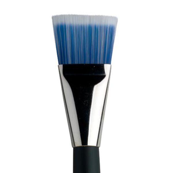 Dynasty Blue Ice Mix Media Brushes - Short Handle Flat Size 40