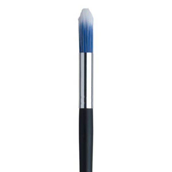 Dynasty Blue Ice Wax Brushes - Short Handle Round Size 10