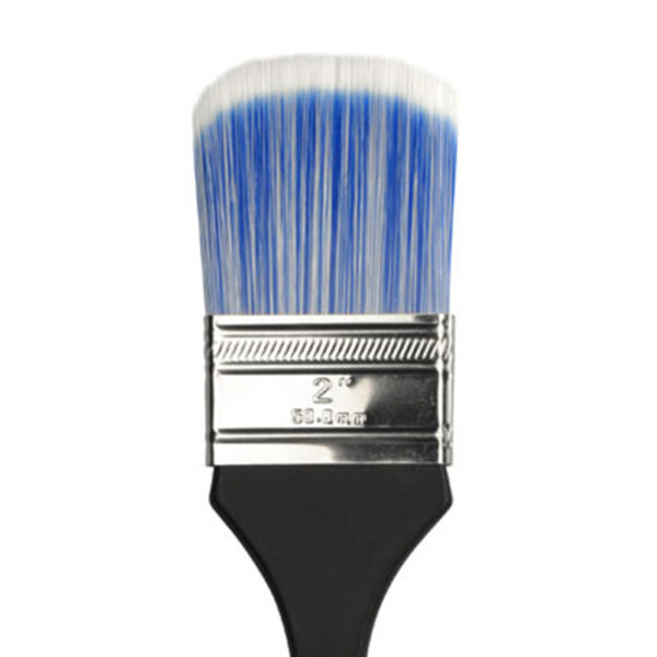 Dynasty Blue Ice Wax Brushes - Short Handle Oval Size 2in