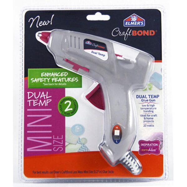 Elmers Glue Gun Mini 20W Dual Temp