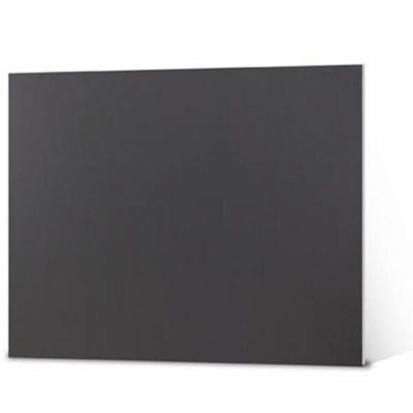 Elmers Foamboard - Black/Black 48 x 96 in 3/16in (5 mm)