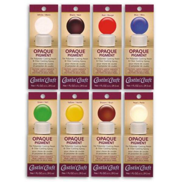 Castin Craft Universal Dyes - Opaque Yellow 30ml (1 OZ)