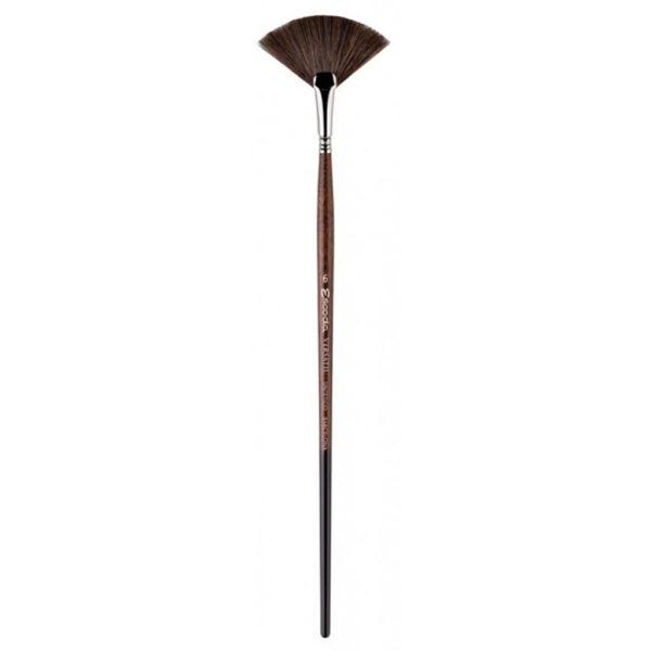 Escoda Versatil Long Handle Brushes - Fan Sz 6