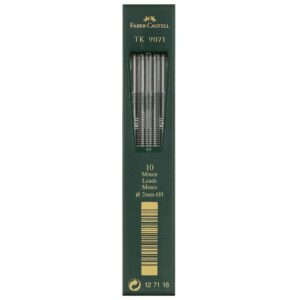 Faber Castell TK 9400 Drawing Pencil Lead - Lead Refill 2 mm Pkg of 10 6H