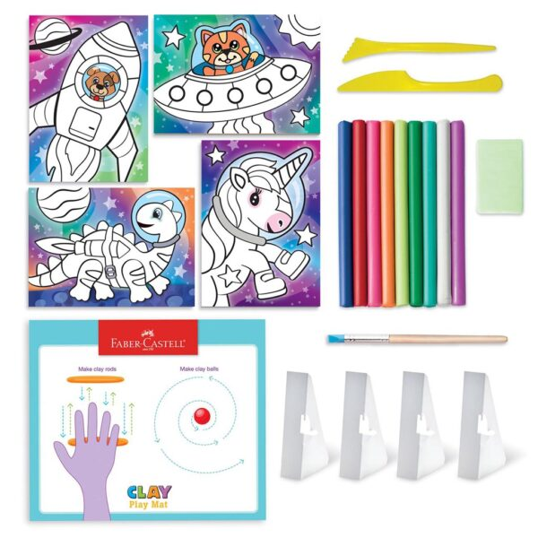 Faber Castell Coloring With Clay Content