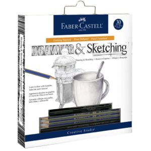 Faber Castell Drawing Getting Started Set Packaged