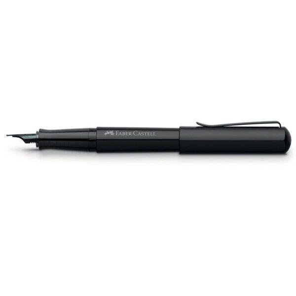 Faber Castell Hexo Fountain Pen Black No Cap