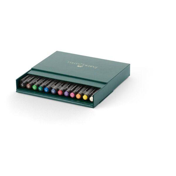 Faber Castell Pitt Artist Pen Sets - Gift Box Set of 12