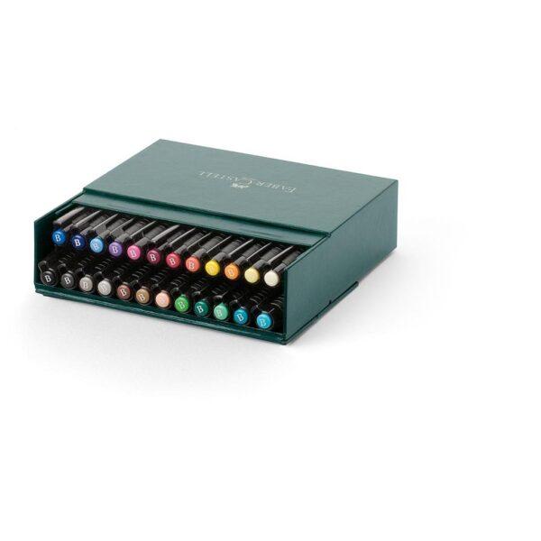 Faber Castell Pitt Artist Pen Sets - Gift Box Set of 24