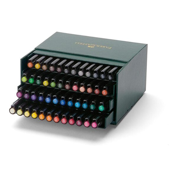 Faber Castell Pitt Artist Pen Sets - Gift Box Set of 48