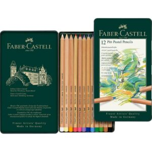 Faber Castell Pitt Pastel Pencil Sets - Set of 12