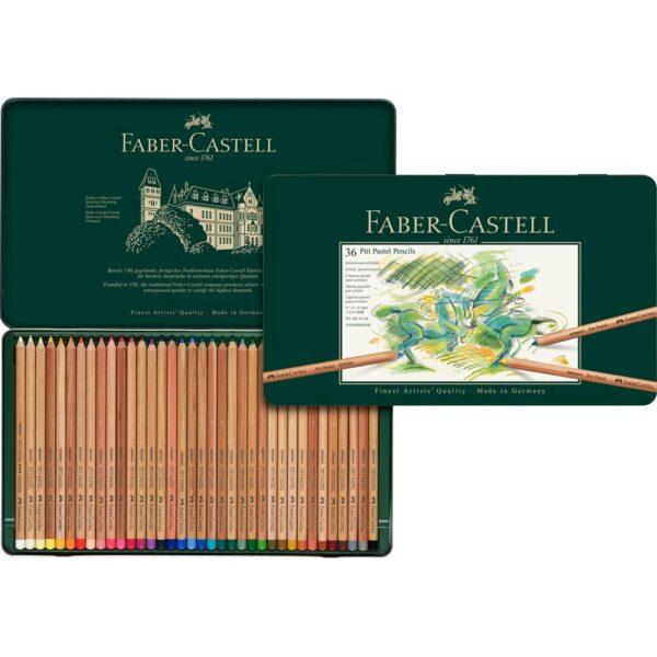 Faber Castell Pitt Pastel Pencil Sets - Set of 36
