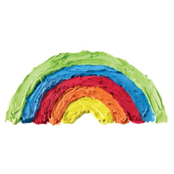 Faber Castell Rainbow Fluffy Paint Detail