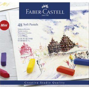 Faber Castell Soft Pastel Half Stick Set 48pc Front
