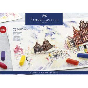 Faber Castell Soft Pastel Half Stick Set 72pc