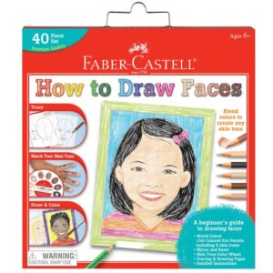 Faber Castell How to Draw Faces