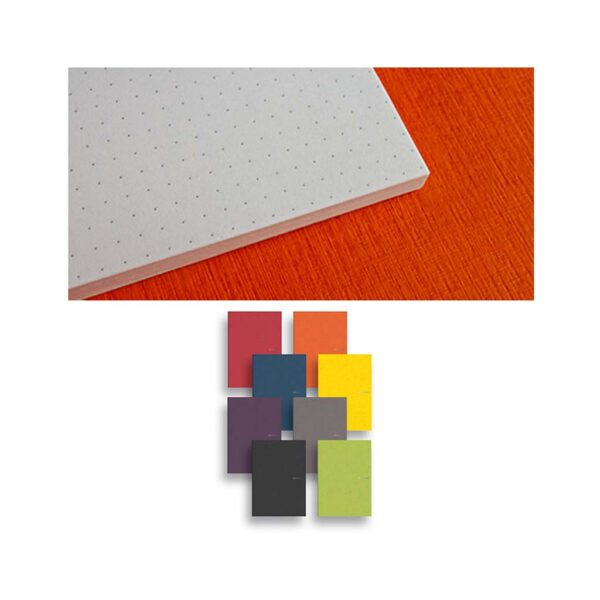 Fabriano EcoQua Notebooks - Gluebound Wine Dot 8.25 x 11.7 in