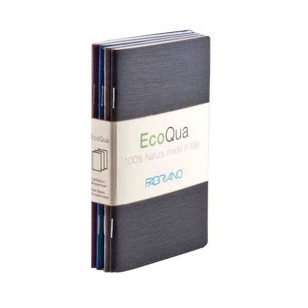 Fabriano EcoQua Notebooks - Staplebound Cool Dot 3.5 x 5.5 in