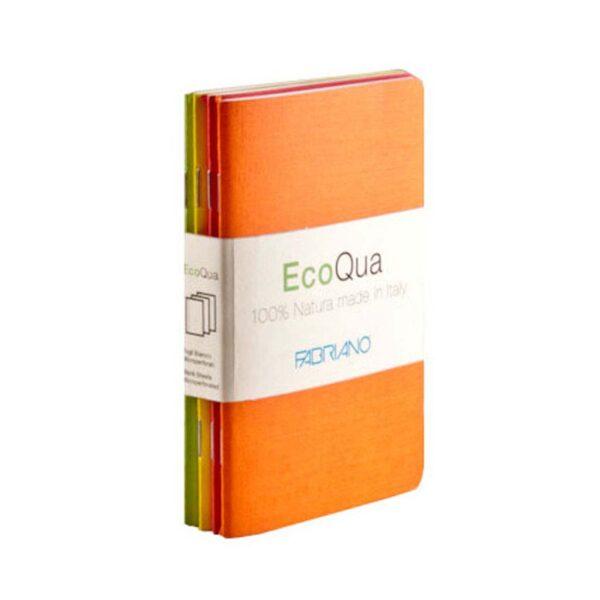 Fabriano EcoQua Notebooks - Staplebound Warm Dot 3.5 x 5.5 in