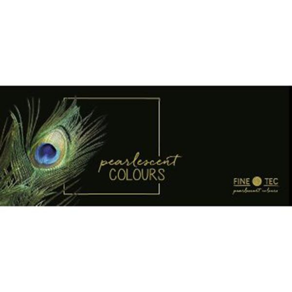 Finetec Watercolor Pearlescent Set of 12 Front