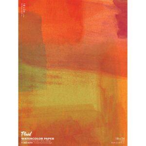 Fluid Watercolor EZ Block 18x24