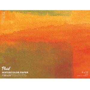 Fluid Watercolor EZ Block 9x12